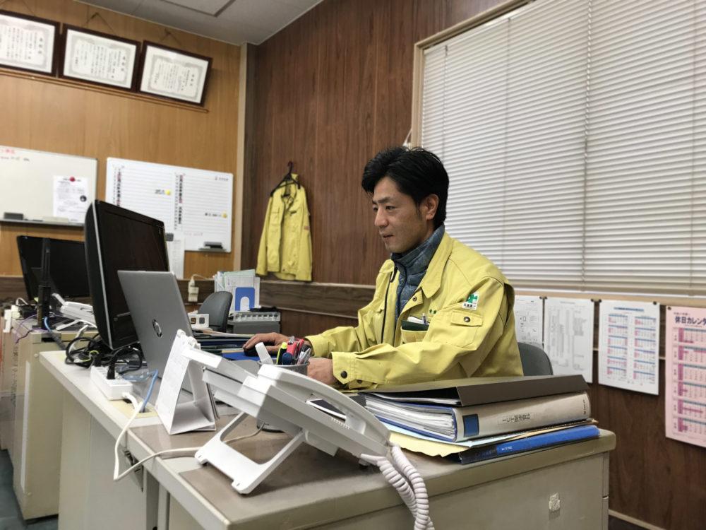 建設株式会社 三嶋進さん